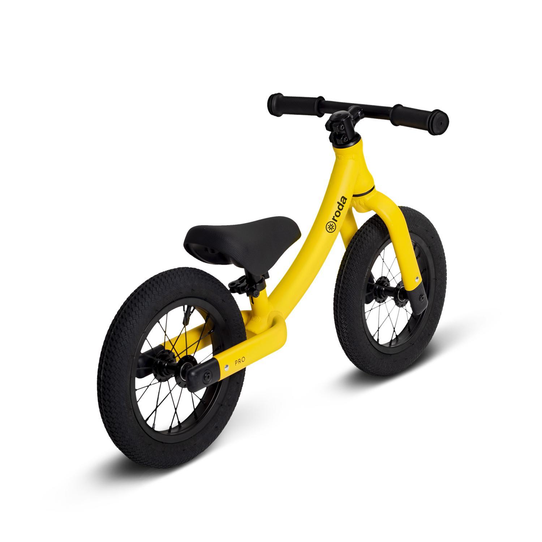 Bicicleta pro amarillo