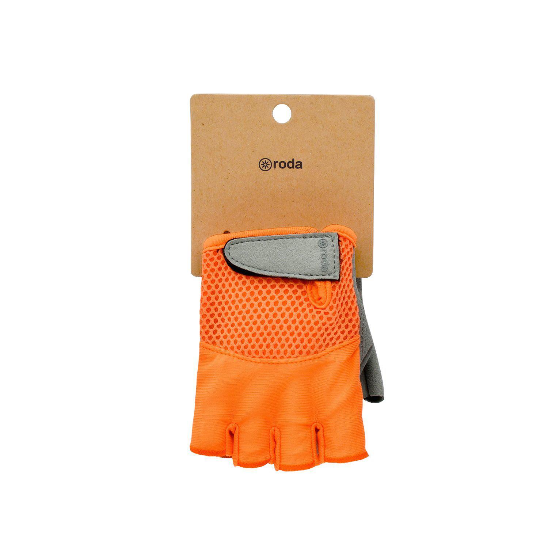 Guantes bicicleta naranja