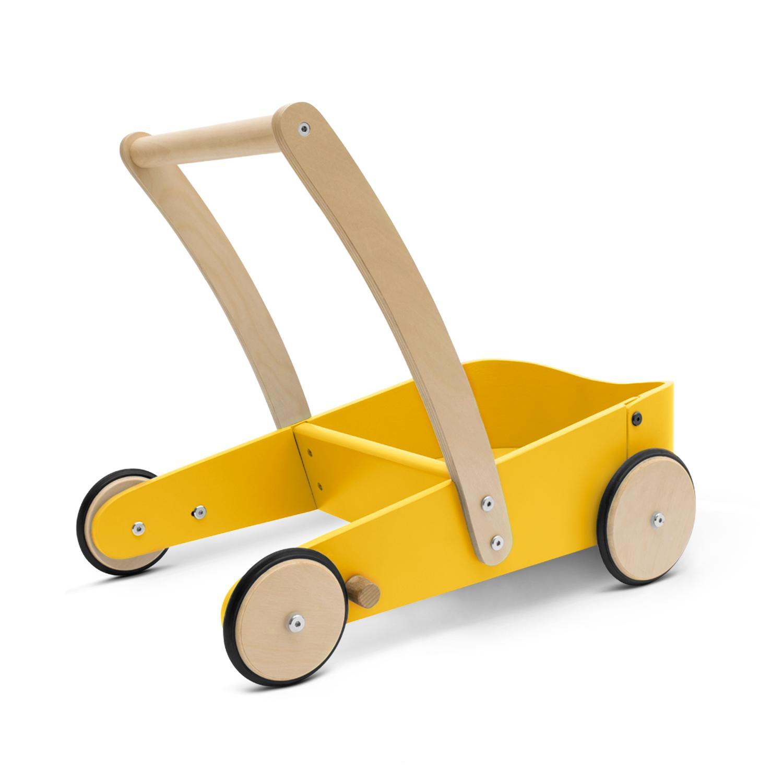 Carrito andador amarillo