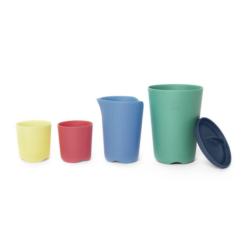 Vasos de Juguete Multicolor Flexi Bath