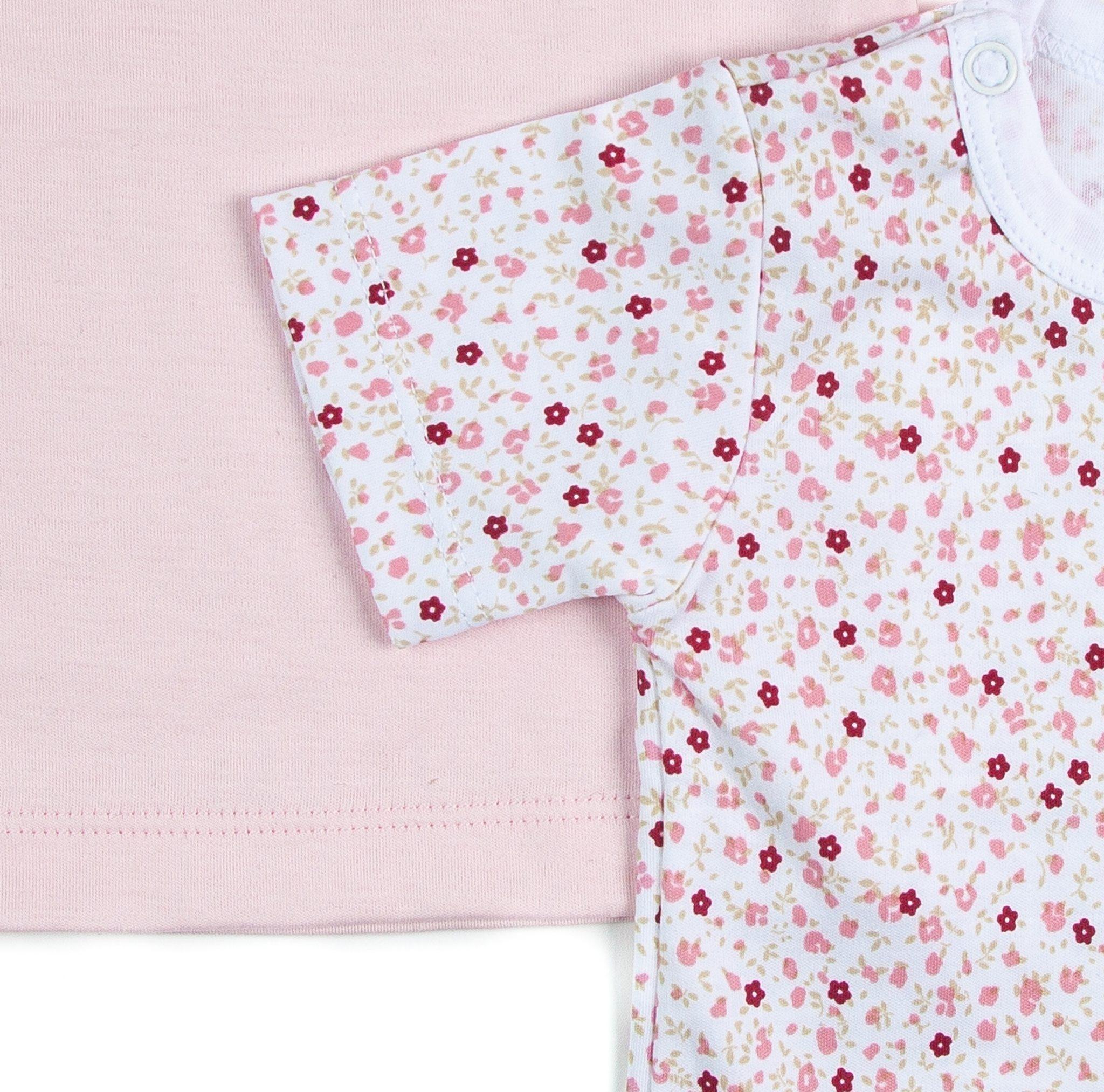 Pack 2 Camisetas Rosas Manga Corta Algodón Pima