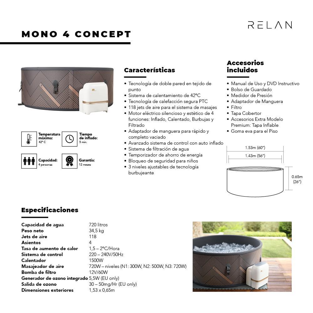 Hot Tub | Mono 4 Concept