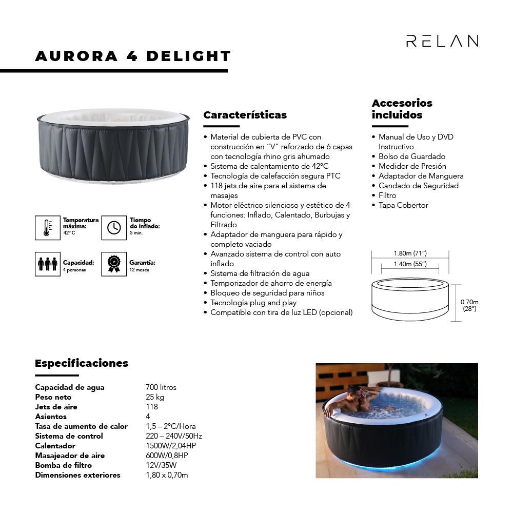Hot Tub | Aurora 4 Delight