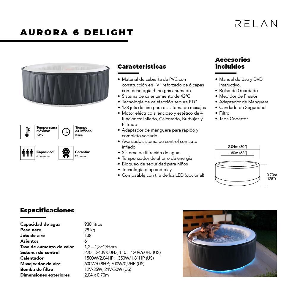 Hot Tub | Aurora 6 Delight