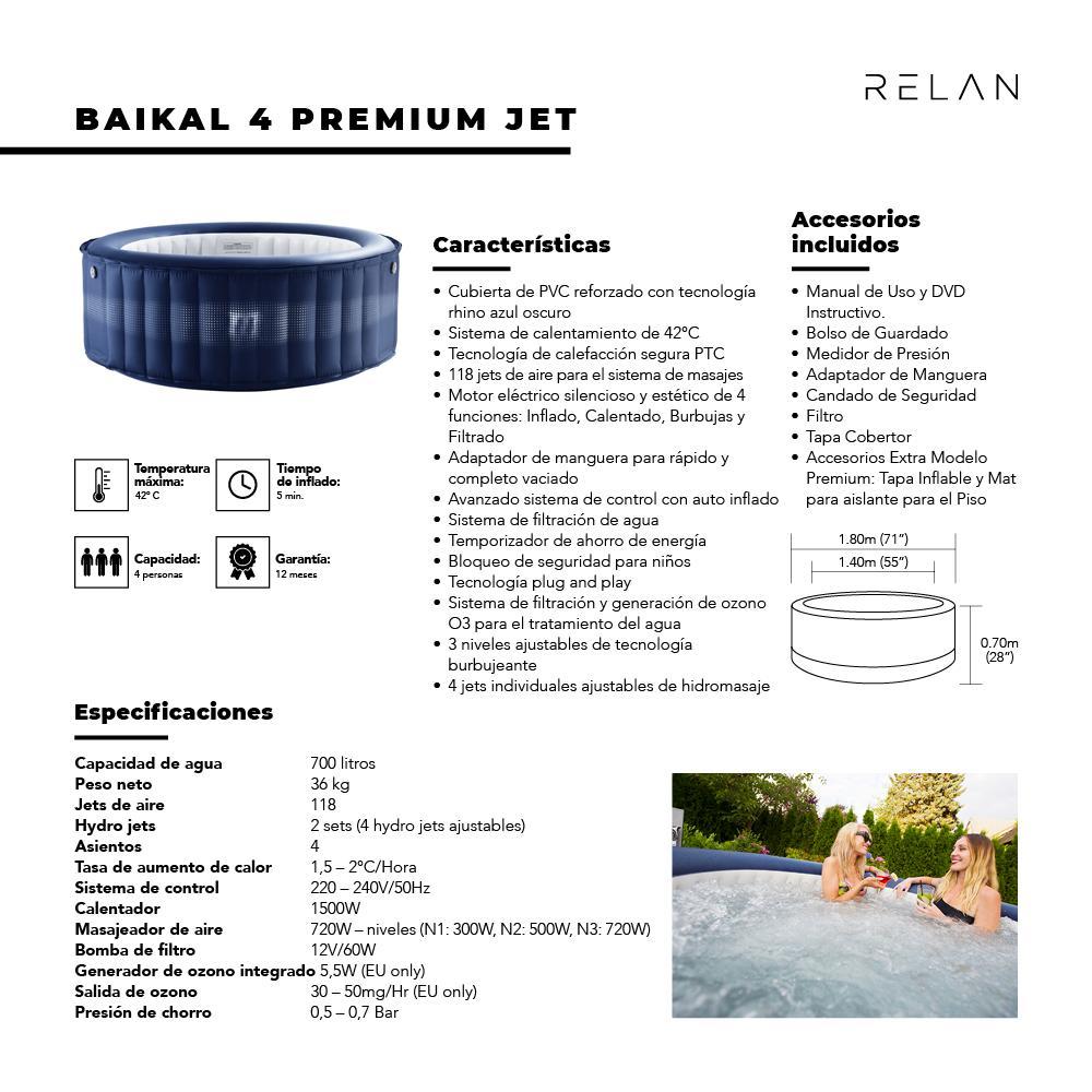 Hot Tub   Baikal 4 Premium Jet