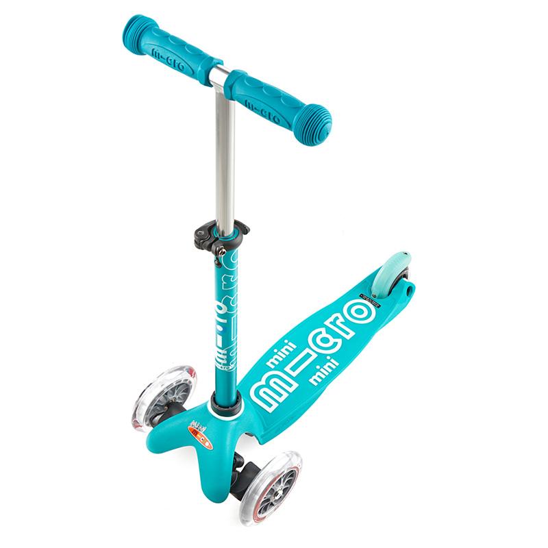 Scooter Micro Mini Deluxe Aqua