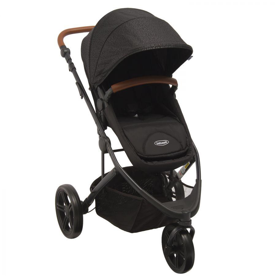 Coche Travel System Trek - Negro