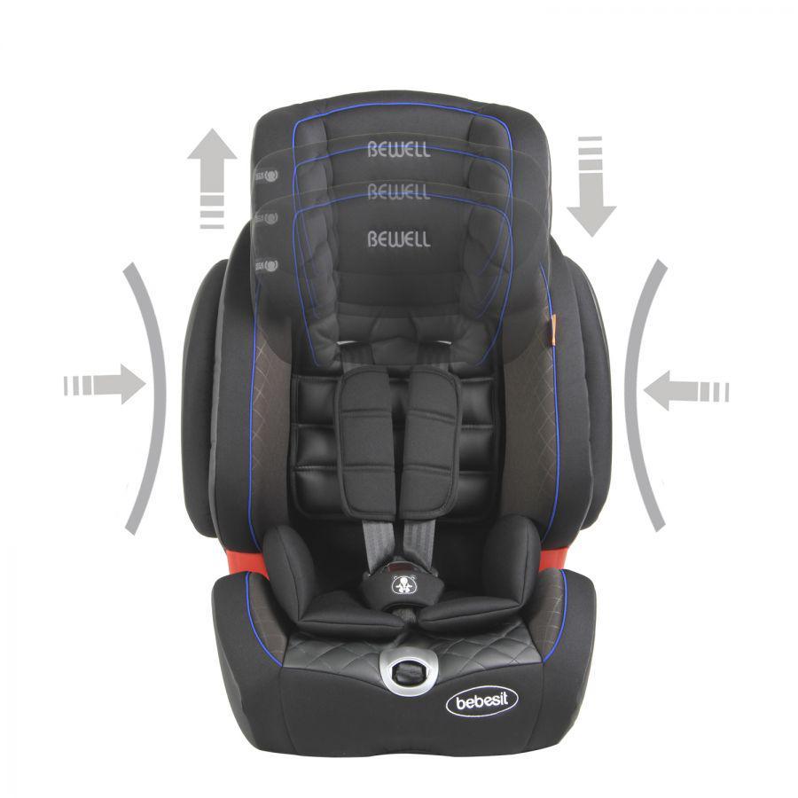 Silla de Auto Butaca Bewell Isofix - Azul
