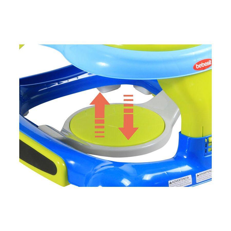 Andador Multi Activity 3 En 1 - Azul