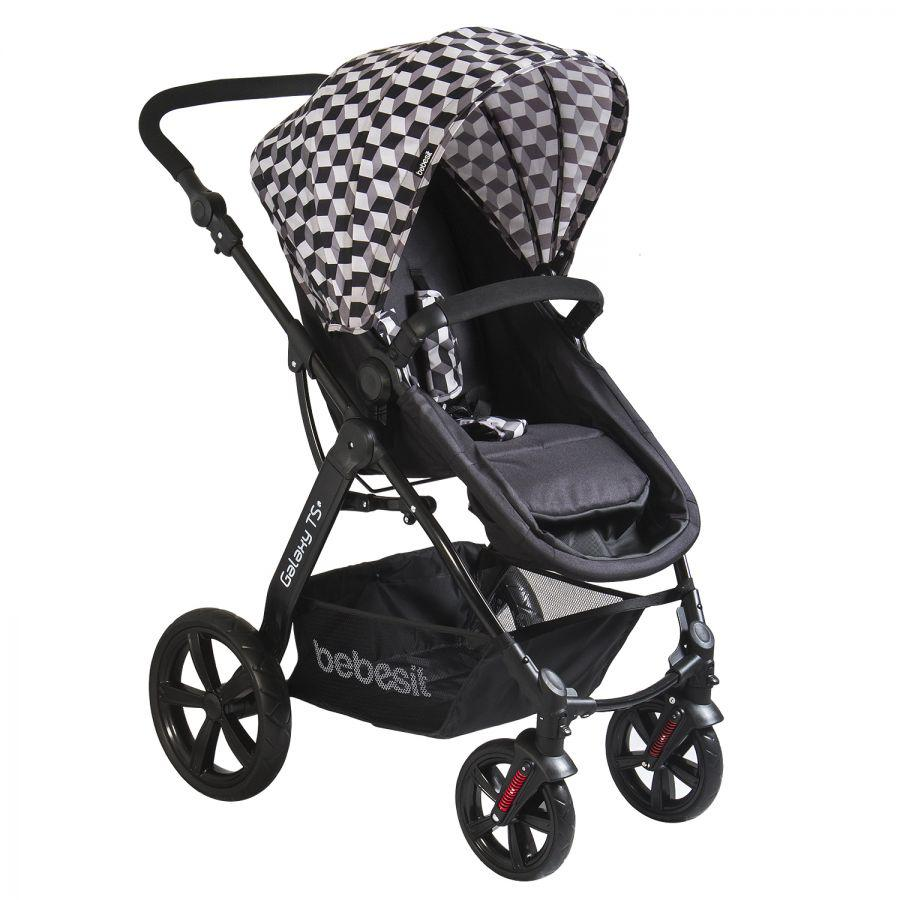 Coche Travel System Galaxy - Negro