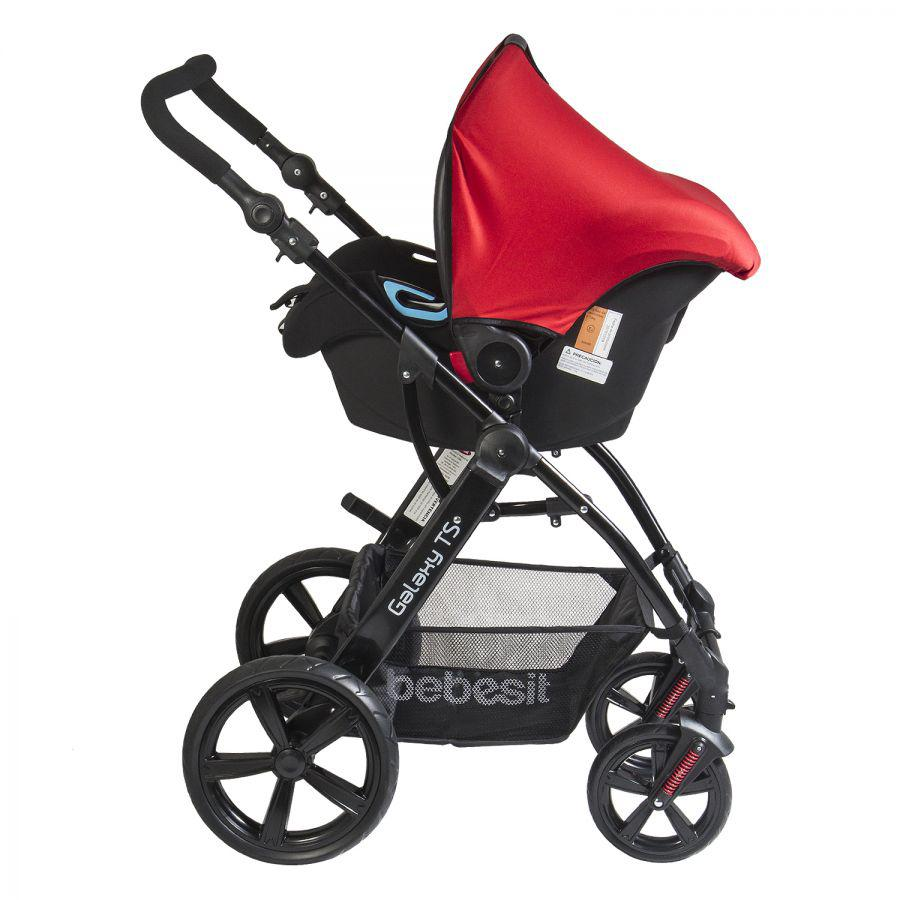 Coche Travel System Galaxy - Rojo