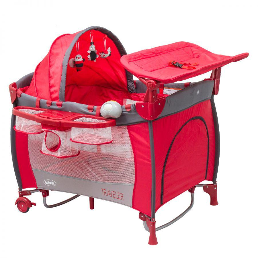 Cuna Pack & Play Traveler- Roja