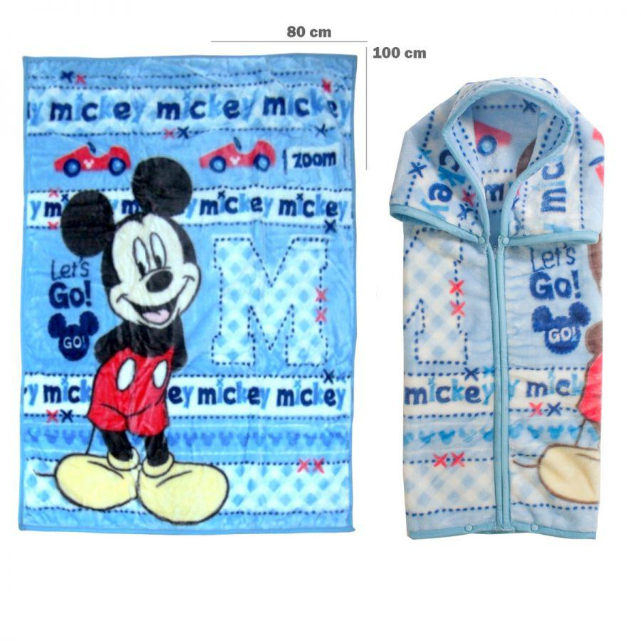 Frazada con broches - Mickey