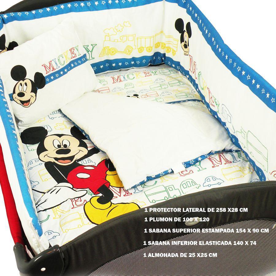 Set De Cuna 5 piezas - Mickey
