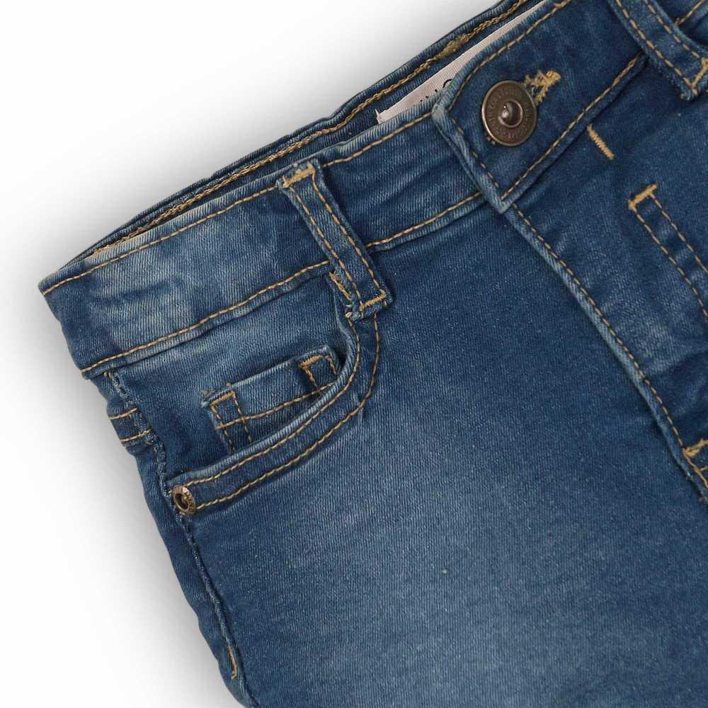 Pantalones cortos de mezclilla azul real