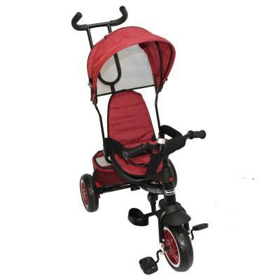 Triciclo One Click Bebeglo RS-4045Q-3 Rojo