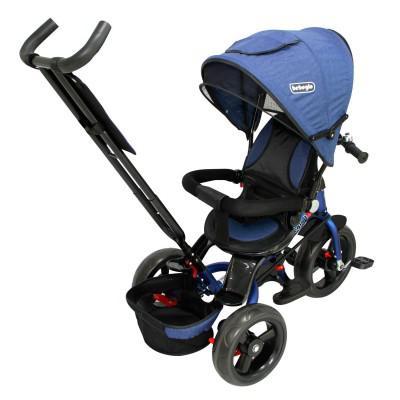 Triciclo Reversible One Click Bebeglo RS-4065Q-1 Azul