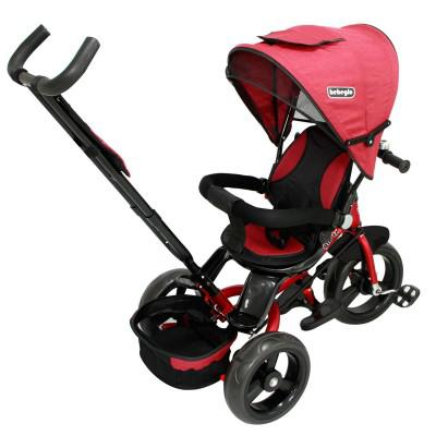 Triciclo Reversible One Click Bebeglo RS-4065Q-3 Rojo
