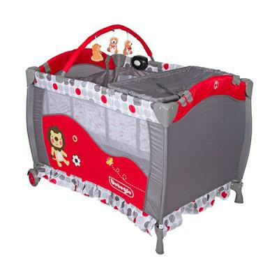 Cuna Pack & Play RS-6190-6 Rojo