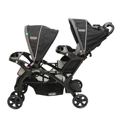 Coche Doble B-Twin RS-13225-4 Gris-negro