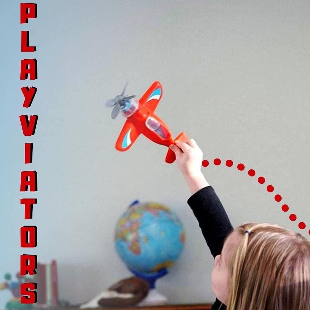 Avion Playviator Azul