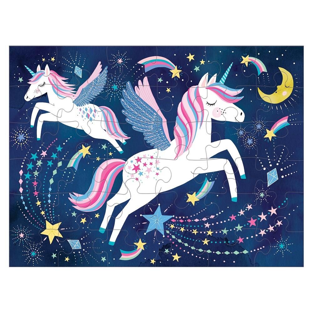 Puzzle Unicornios Mágicos En Bolso