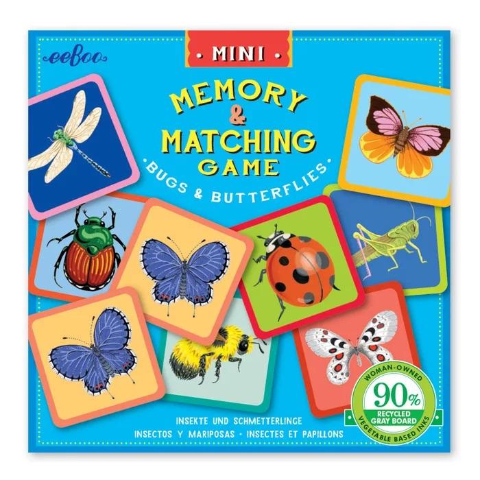 Memorice Mini Bichos Y Mariposas