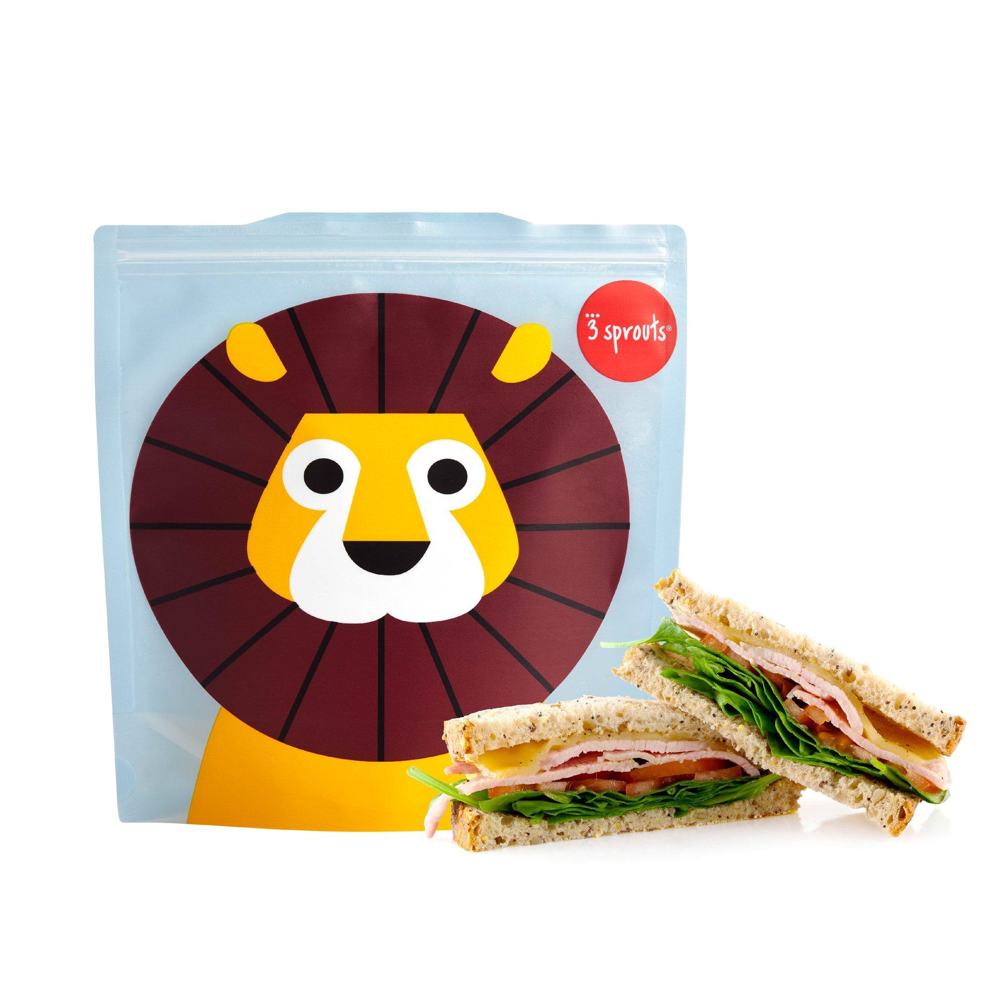 Bolsas Reusables Para Sandwich León