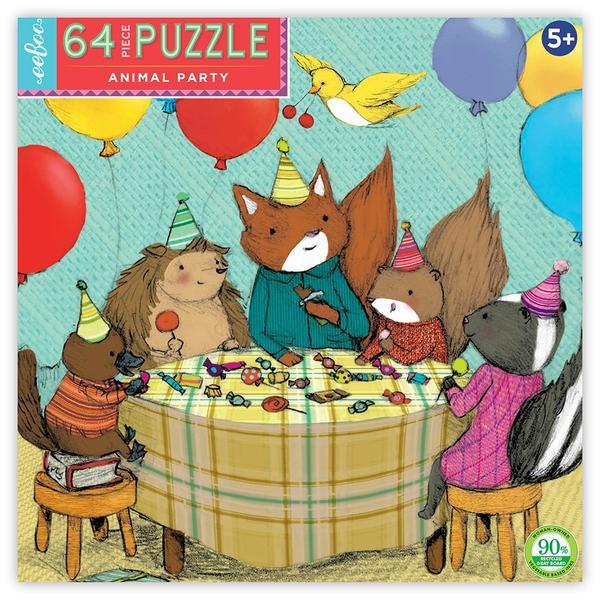 Puzzle 64 Piezas Fiesta De Animales