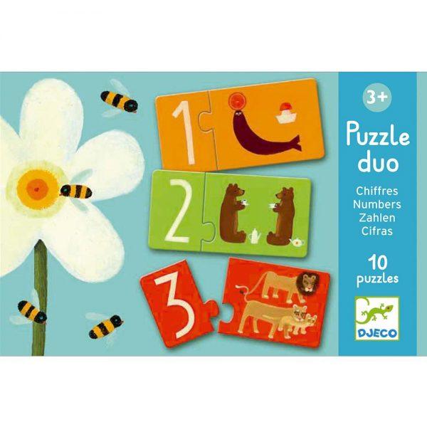 Puzzle Duo Numeros
