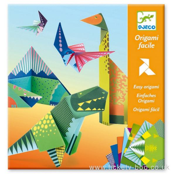 Origami Fácil Dinosaurio