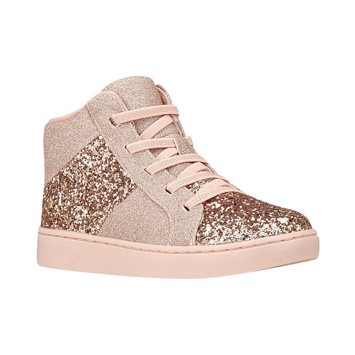 Zapatilla caña alta Urban Boots Rosa