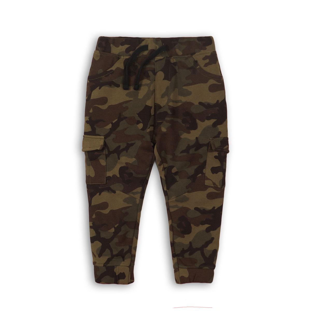Pantalon camuflajeado con cordón