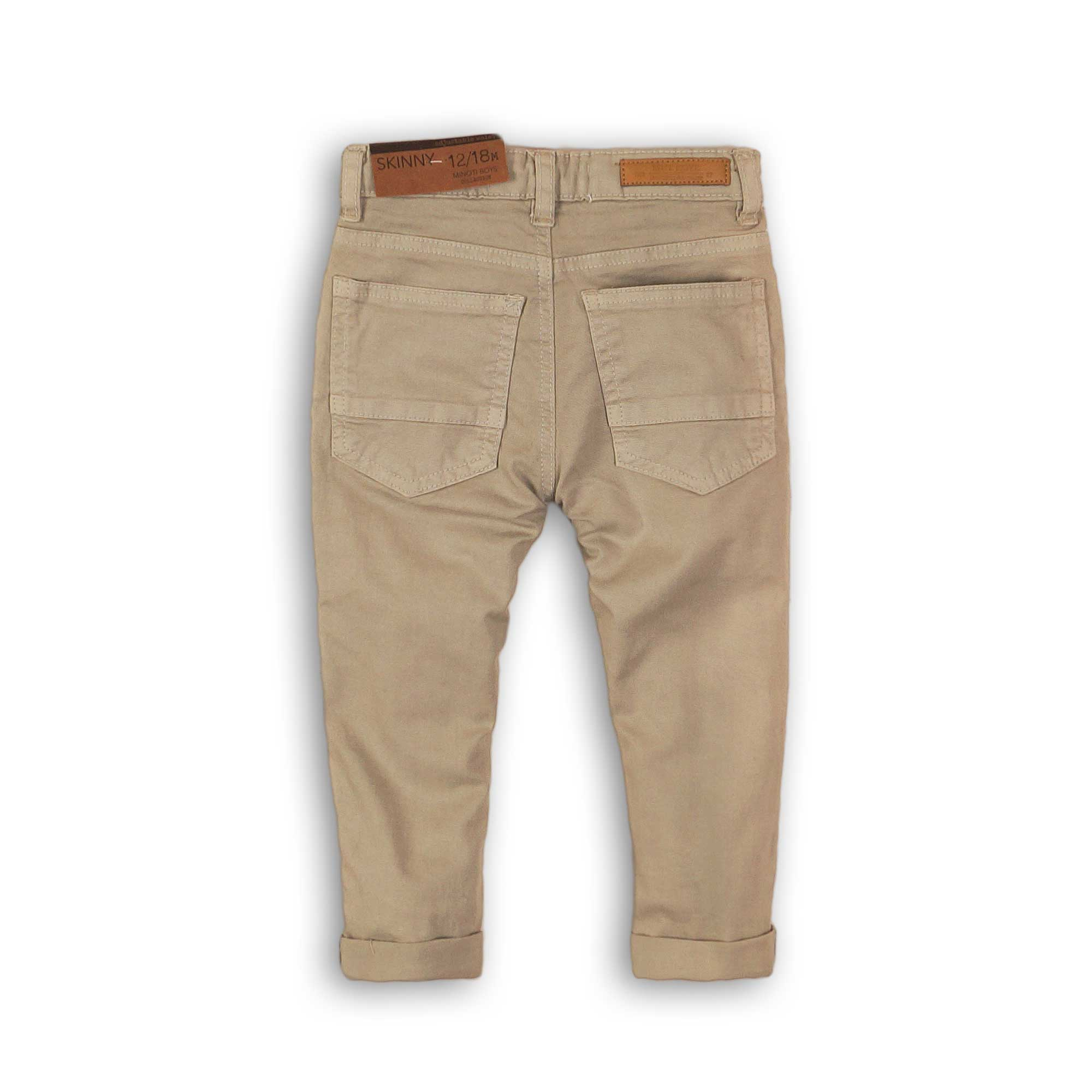 Pantalón con bolsillos inclinados