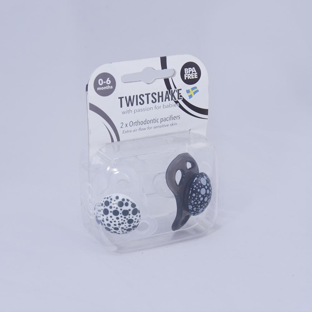 Chupetes Twistshake 0-6m 2 uns