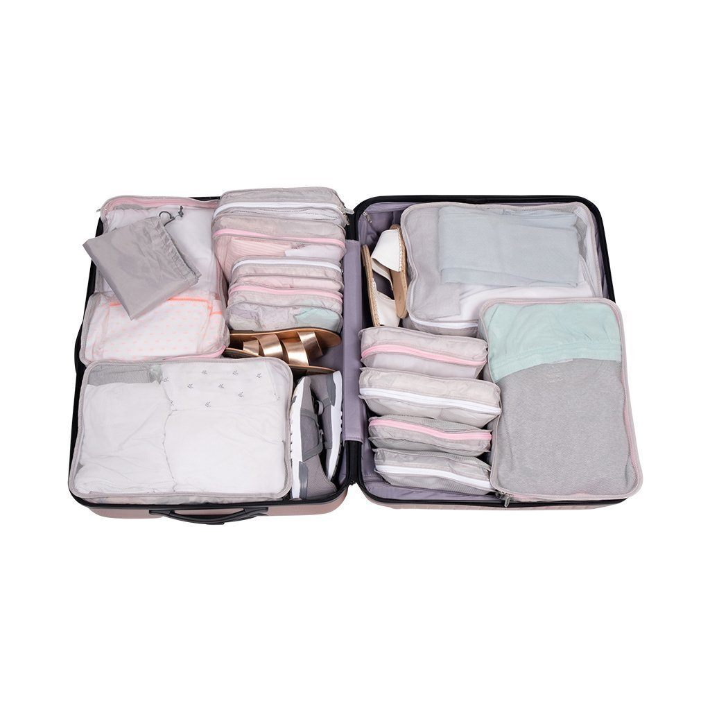 Organizadores de maleta Packing Pals™ Rosado