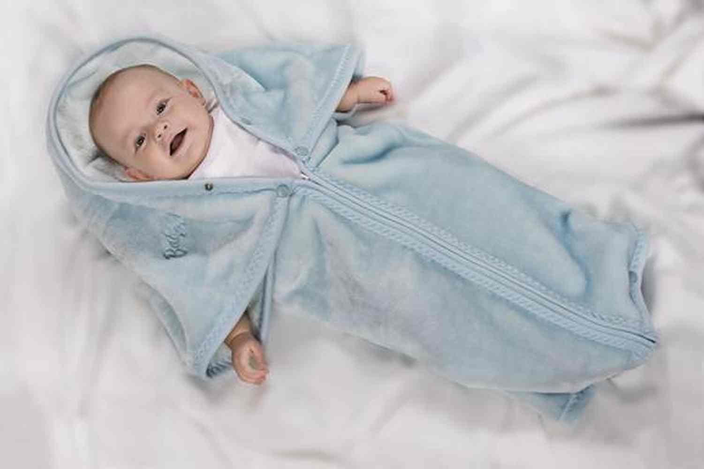 Frazada Baby Bag Azul
