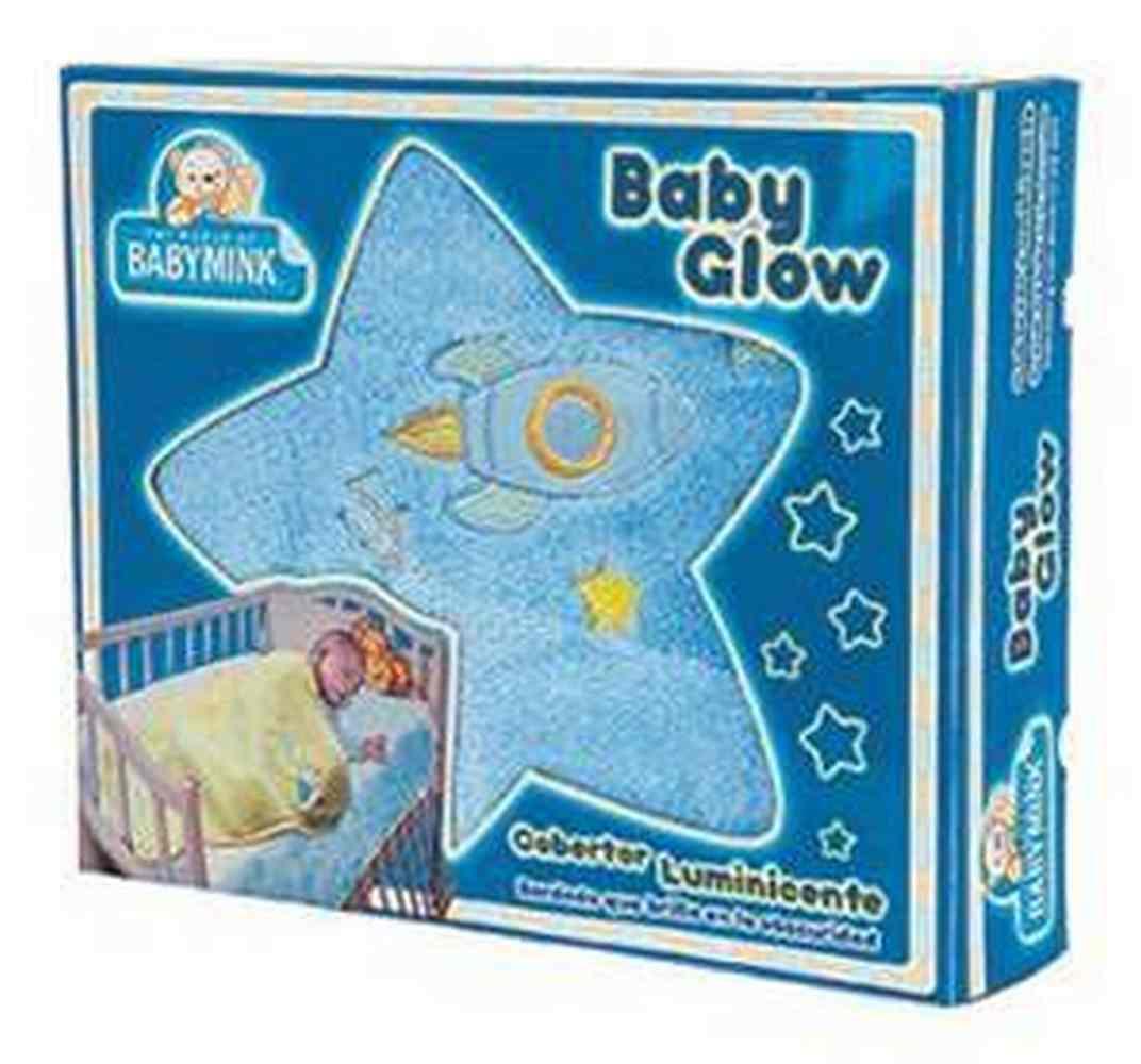 Frazada Baby Glow Azul