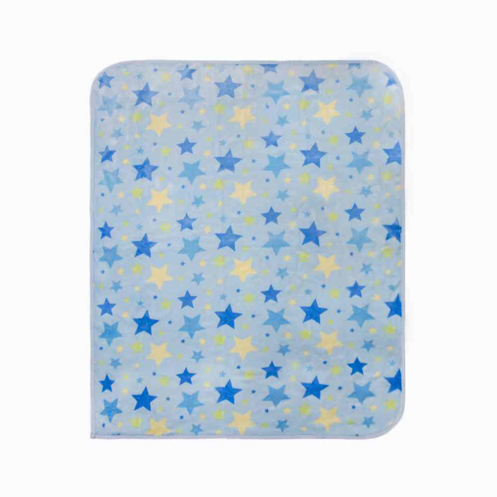 Frazada Doble Confort Azul