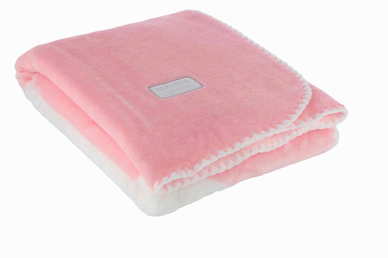 Cobertor Cunero Linea Signature Rosa