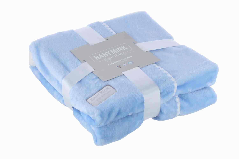 Cobertor Cunero Lunea Signature Azul