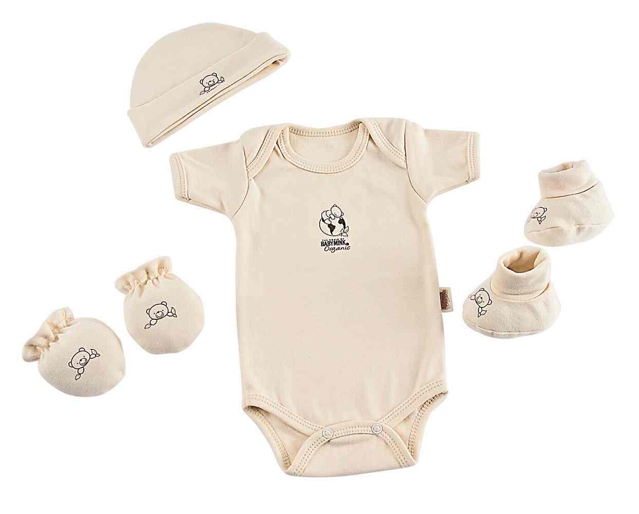 Set Recien Nacido Organic Natural