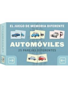 Automóviles. Juego de memoria diferente