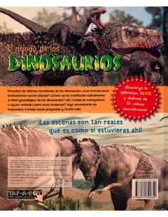 Enciclopedia para niños con app. El mundo de los Dinosaurios