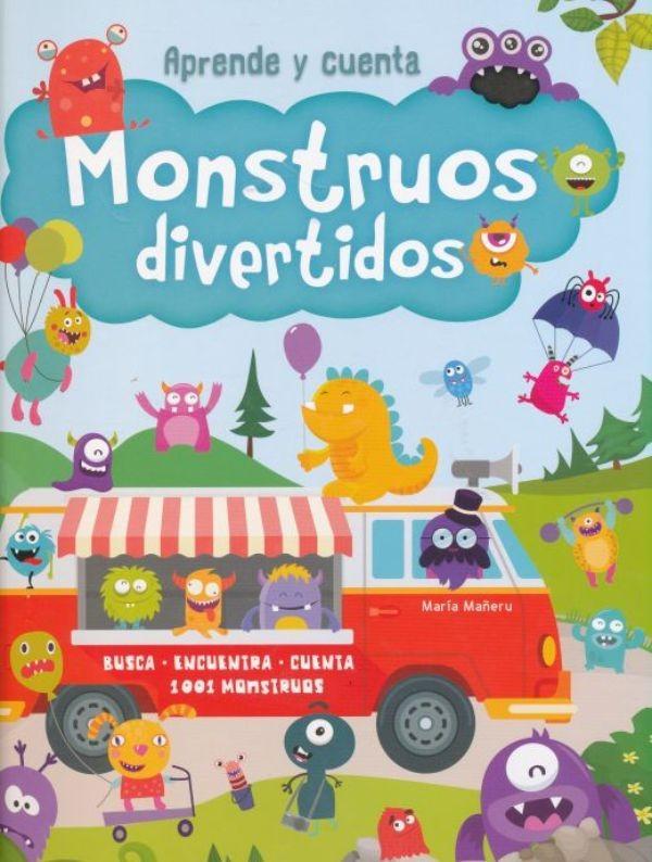 Aprende y cuenta - Monstruos divertidos