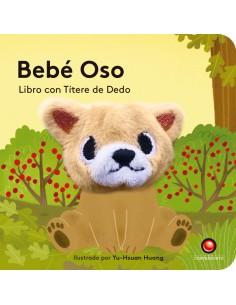 Libro con títere de dedo - Bebé Oso