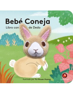 Libro con títere de dedo - Bebé Conejo