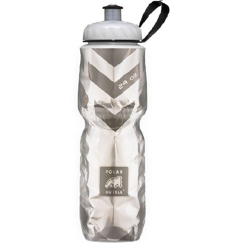 Botella De Agua Polar Bottle Chevron Black 710Ml
