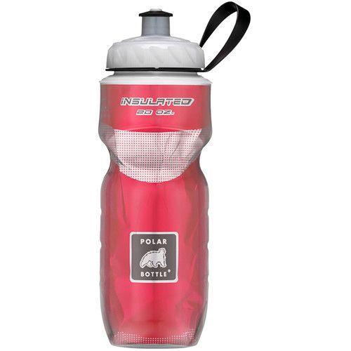 Botella De Agua Polar Bottle Gran Fondo Chevron Red 710Ml
