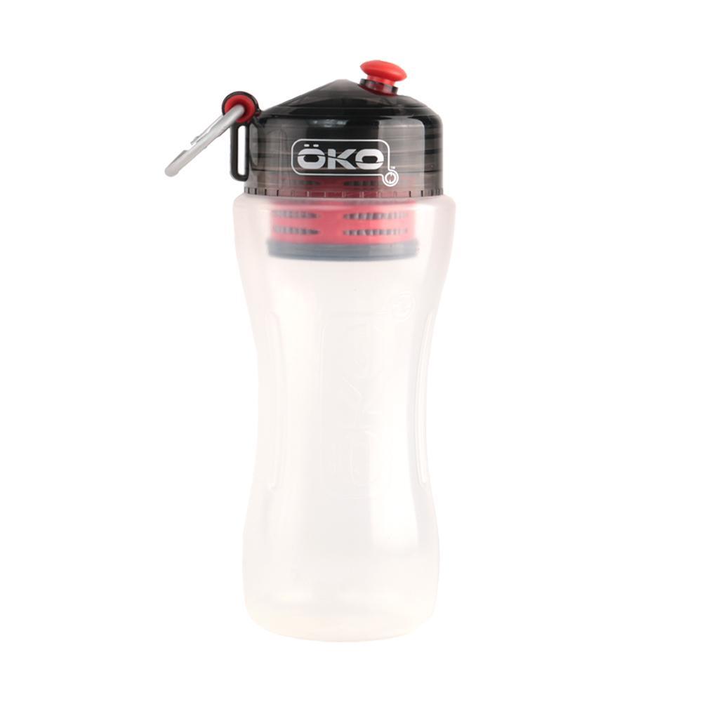 Botella C/Filtro 650 Ml Libre Bpa Rojo Oko
